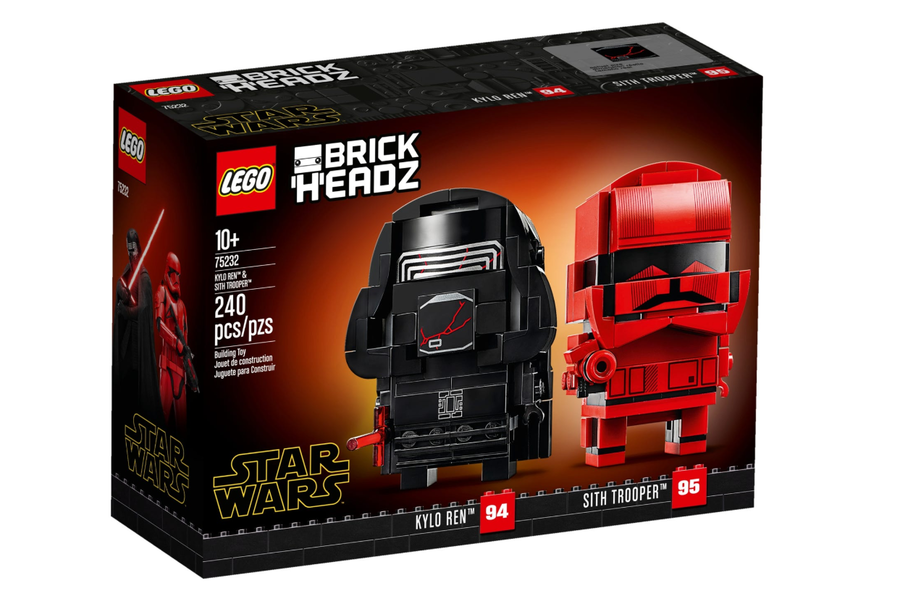 75232 Kylo Ren ve Sith Trooper BrickHeadz