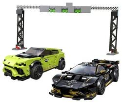 LEGO - 76899 LEGO Speed Champions Lamborghini Urus ST-X ve Lamborghini Huracán Super Trofeo EVO