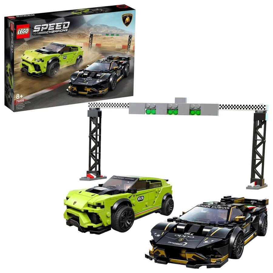 76899 LEGO Speed Champions Lamborghini Urus ST-X ve Lamborghini Huracán Super Trofeo EVO