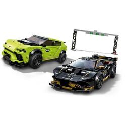 76899 LEGO Speed Champions Lamborghini Urus ST-X ve Lamborghini Huracán Super Trofeo EVO - Thumbnail