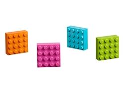 853900 LEGO® 4x4 Brick Magnets - Thumbnail