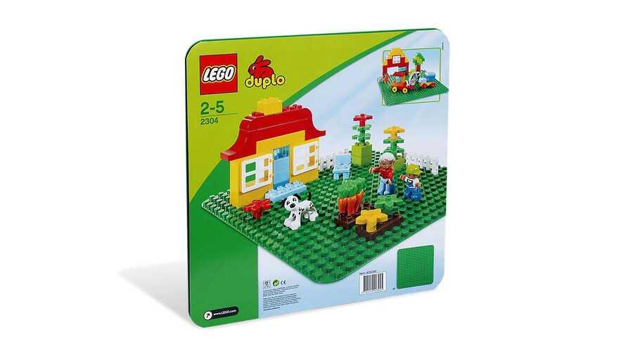 2304 LEGO DUPLO Büyük Yeşil Zemin