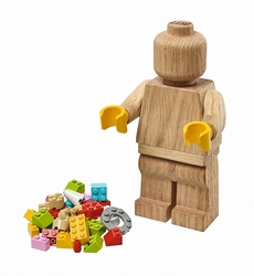 853967 LEGO® Wooden Minifigure - Thumbnail