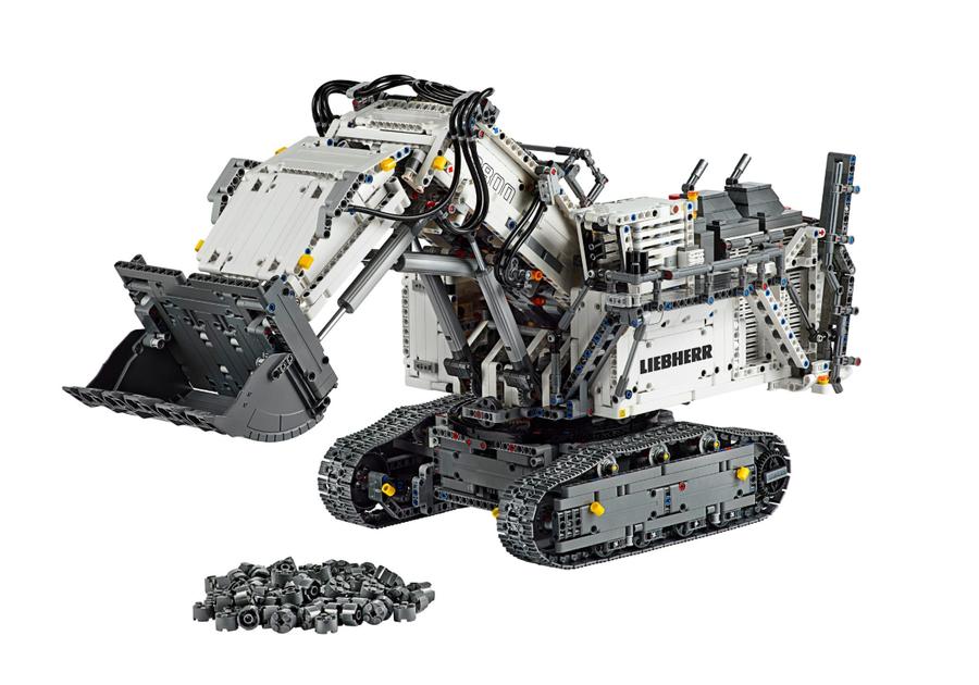 42100 LEGO Technic Liebherr R 9800 Ekskavatör