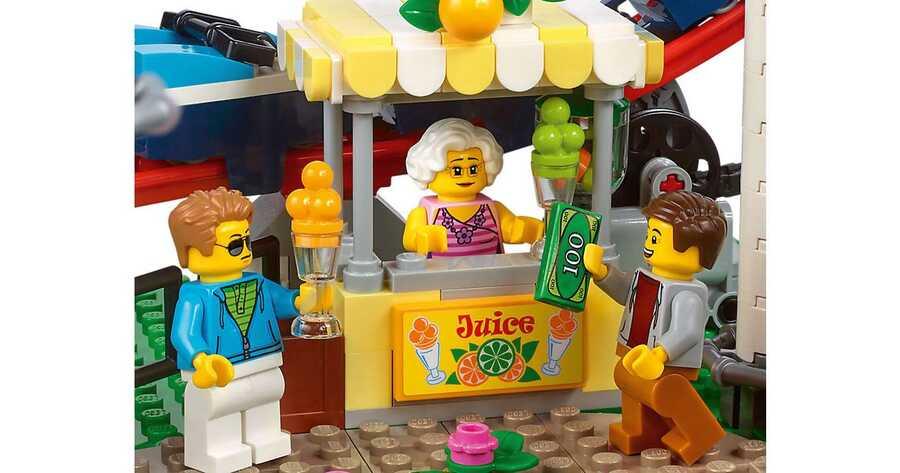 10261 LEGO Creator Lunapark Hız Treni
