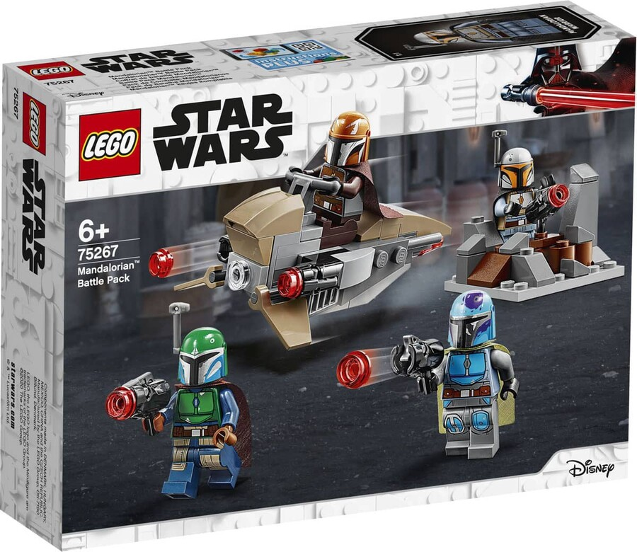 75267 LEGO Star Wars Mandalorian™ Savaş Paketi