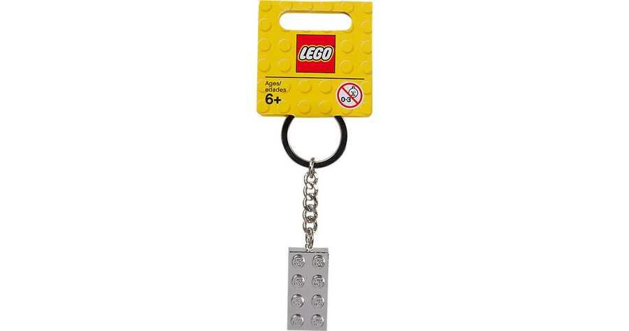 851406 Metalik 2x4 Anahtarlık V121