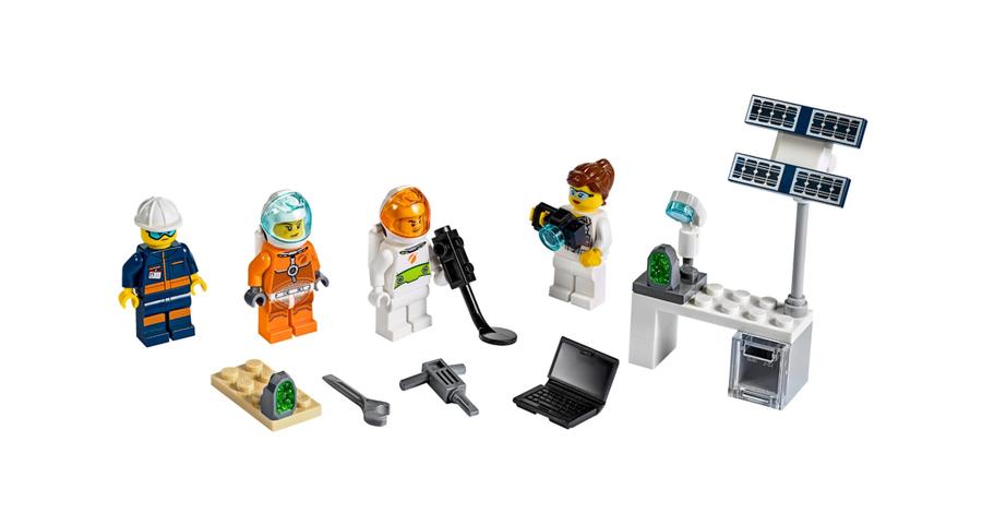 40345 Uzay Keşifi Minifigür Paketi