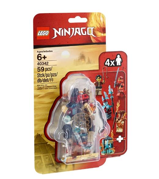 40342 NINJAGO Minifigür Paketi