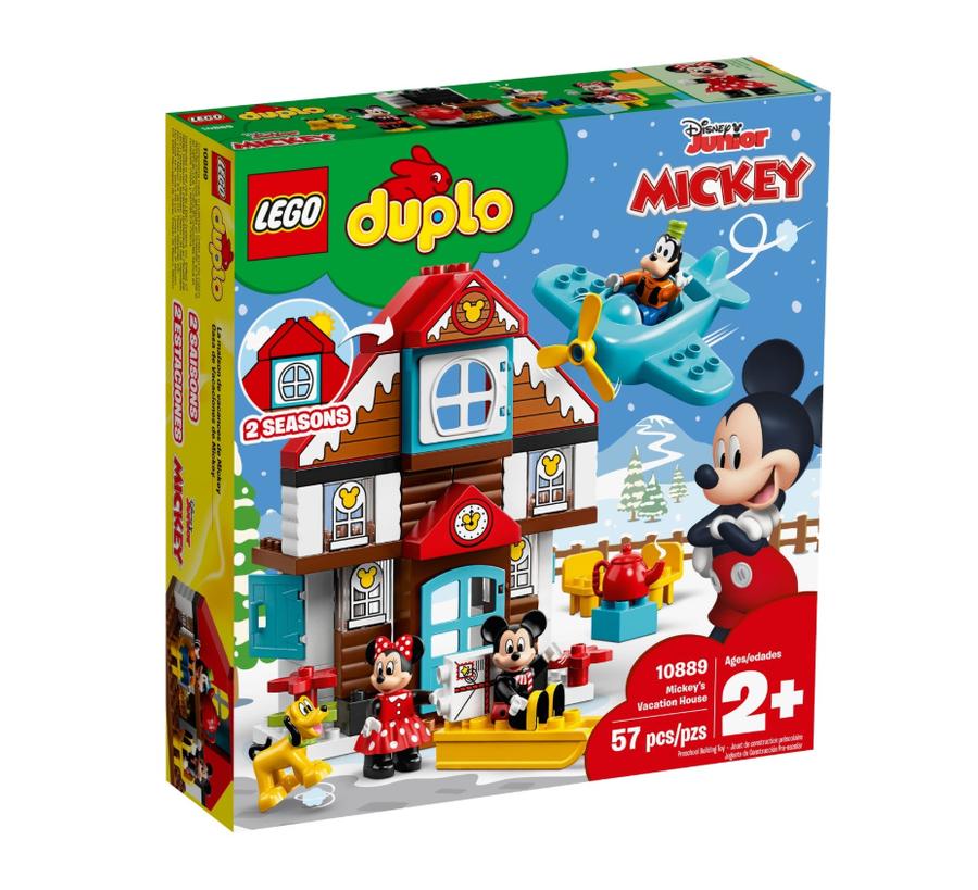 10889 Mickey'nin Tatil Evi