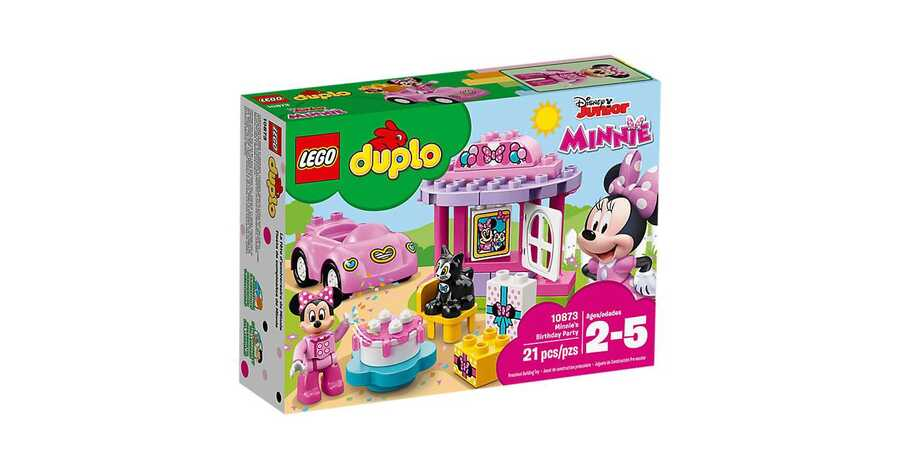 10873 LEGO DUPLO Disney Minnie'nin Doğum Günü Partisi