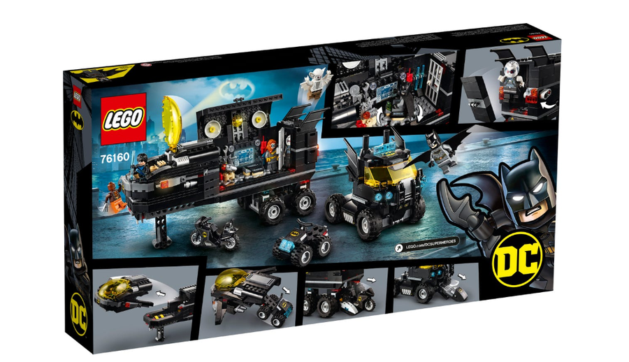 76160 LEGO DC Batman Mobil Yarasa Üssü