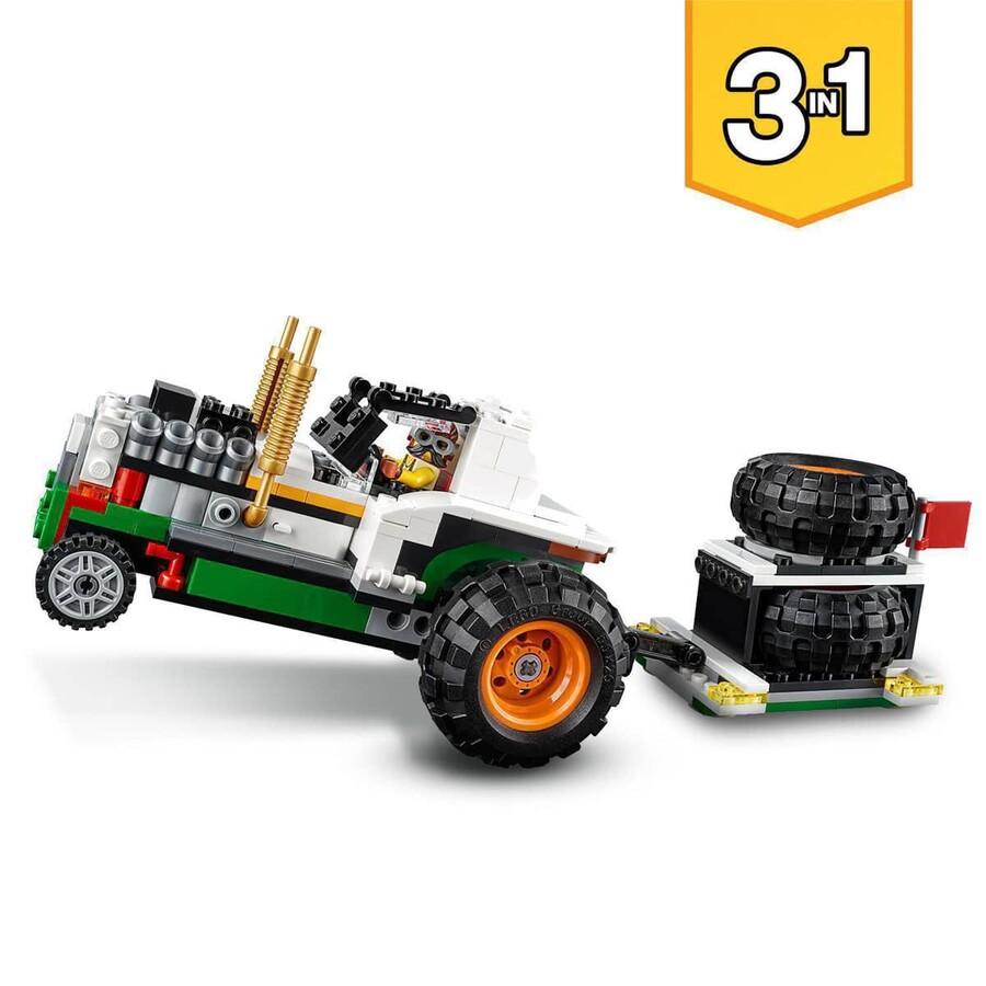 31104 LEGO Creator Canavar Hamburger Kamyonu