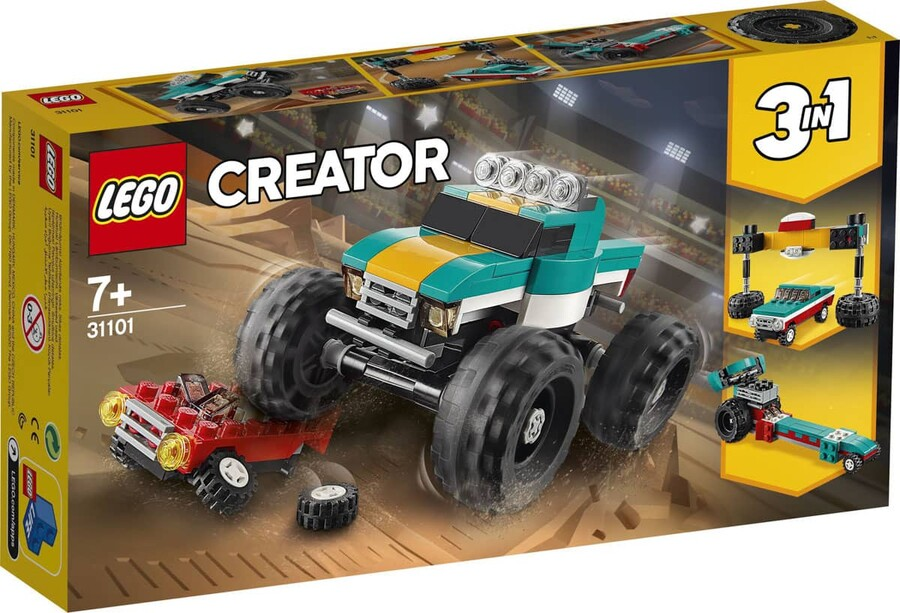 31101 LEGO Creator Canavar Kamyon