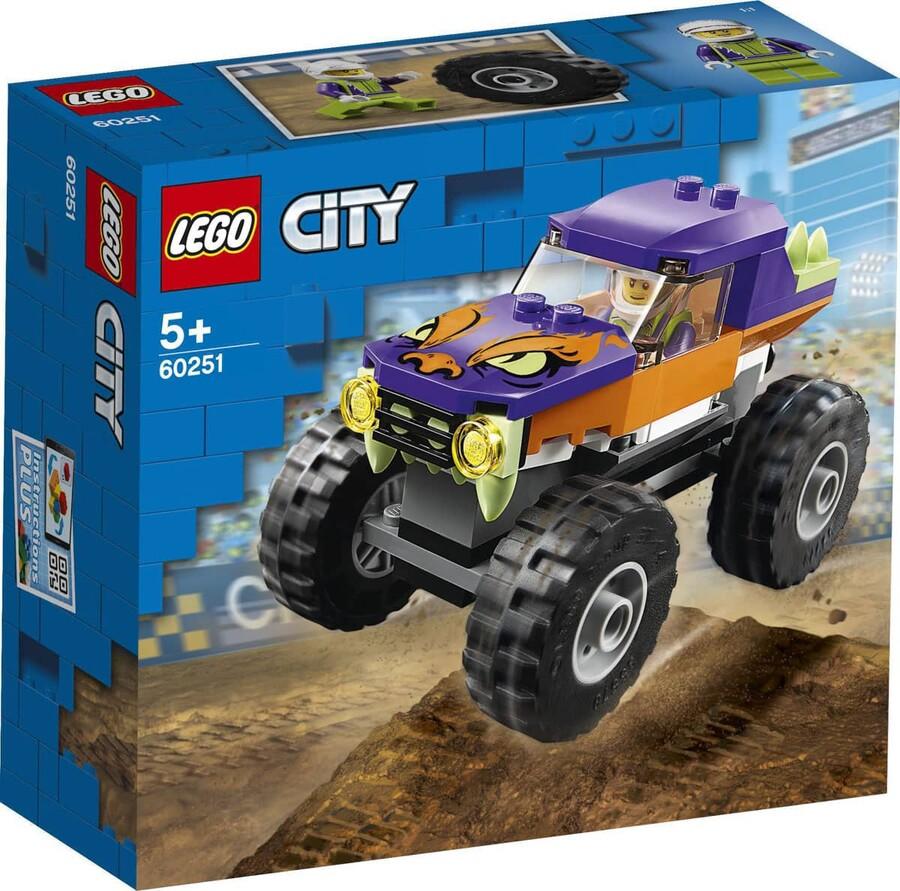 60251 LEGO City Canavar Kamyonet