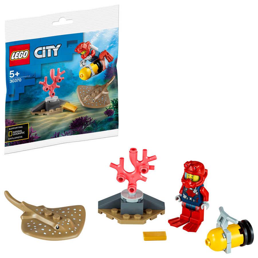 30370 LEGO City Okyanus Dalgıcı
