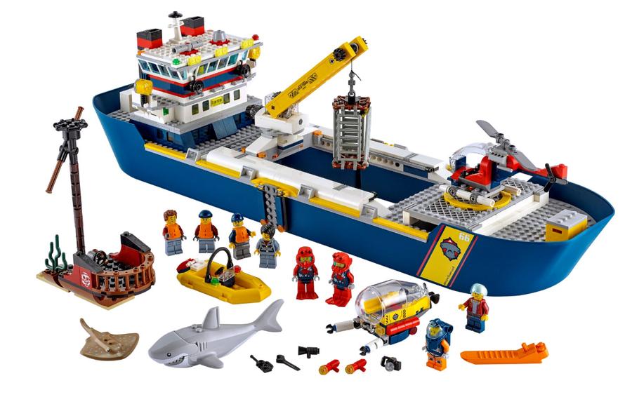60266 LEGO City Okyanus Keşif Gemisi