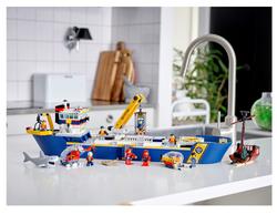 60266 LEGO City Okyanus Keşif Gemisi - Thumbnail