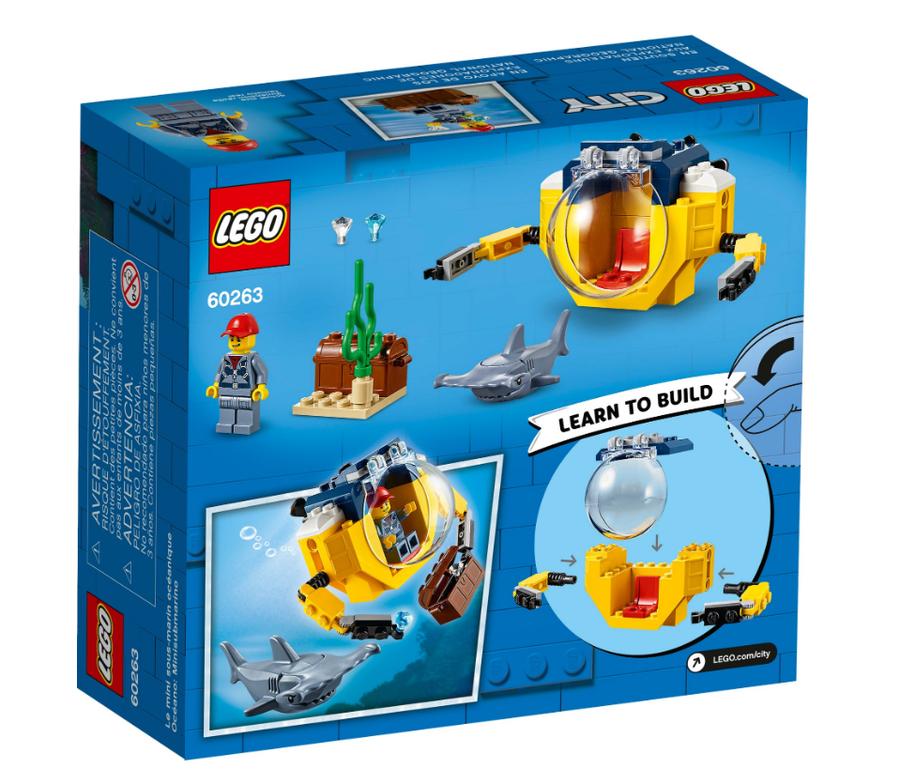 60263 Ocean Mini-Submarine