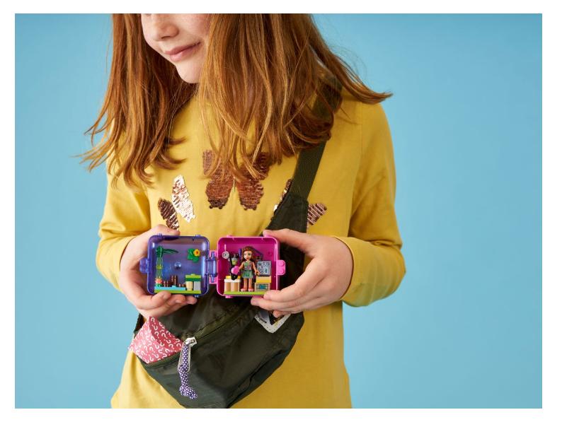 41436 Olivia's Jungle Play Cube