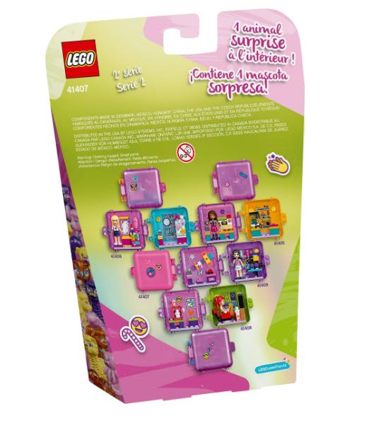 41407 Olivia's Shopping Play Cube