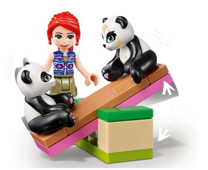 41422 LEGO Friends Panda Orman Ağaç Evi