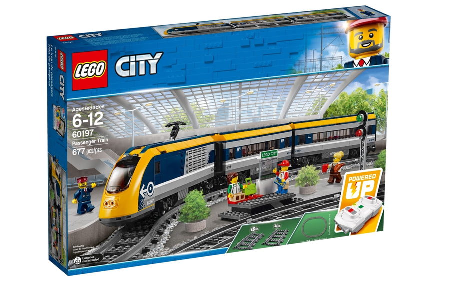 60197 LEGO City Yolcu Treni