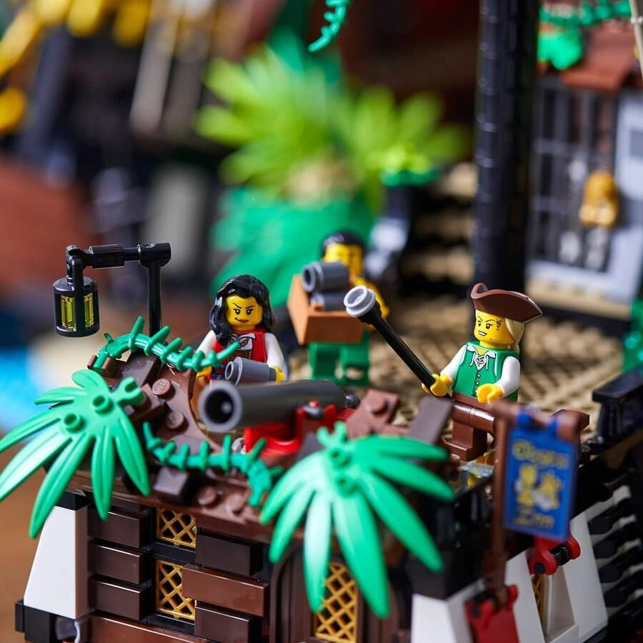 21322 LEGO Ideas Baraküda Körfezi Korsanları