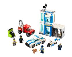 LEGO - 60270 LEGO City Polis Yapım Parçası Kutusu