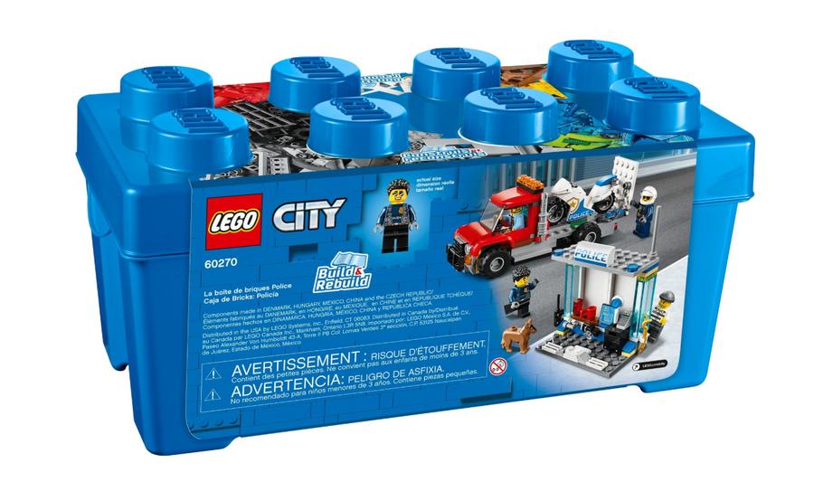 60270 LEGO City Polis Yapım Parçası Kutusu