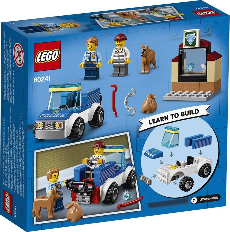 60241 LEGO City Polis Köpeği Birimi