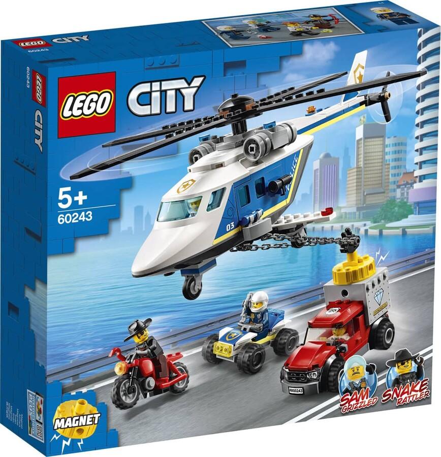 60243 LEGO City Polis Helikopteri Takibi