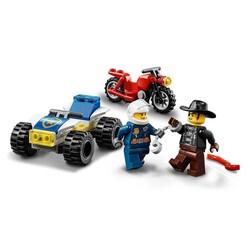 60243 LEGO City Polis Helikopteri Takibi - Thumbnail