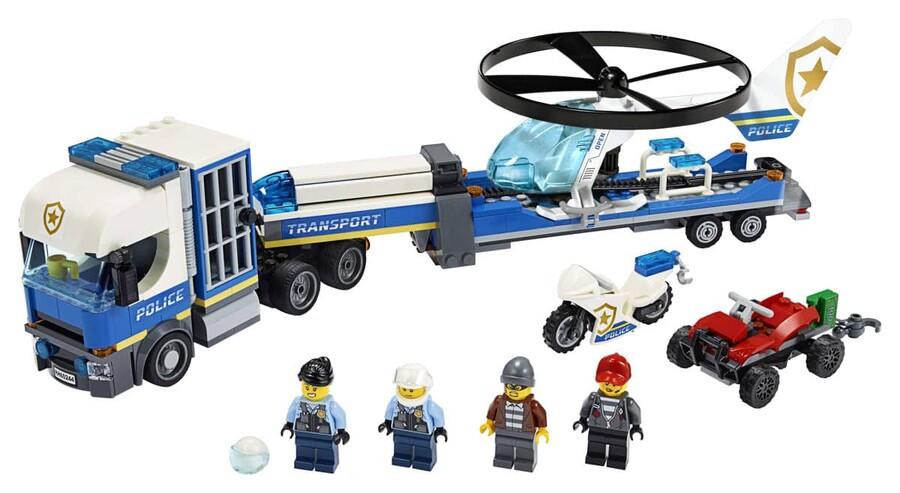 60244 LEGO City Polis Helikopteri Nakliyesi