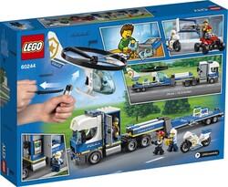 60244 LEGO City Polis Helikopteri Nakliyesi - Thumbnail