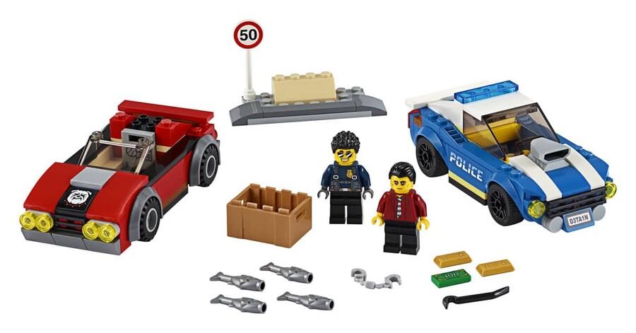 60242 LEGO City Polis Otobanda Tutuklama