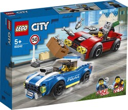 60242 LEGO City Polis Otobanda Tutuklama - Thumbnail