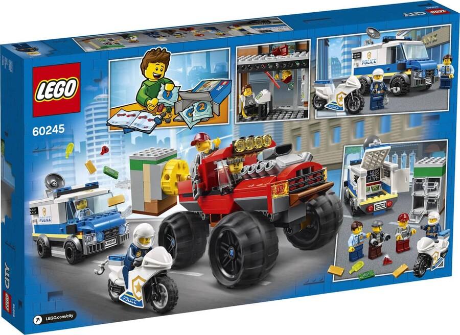 60245 LEGO City Polis Canavar Kamyon Soygunu