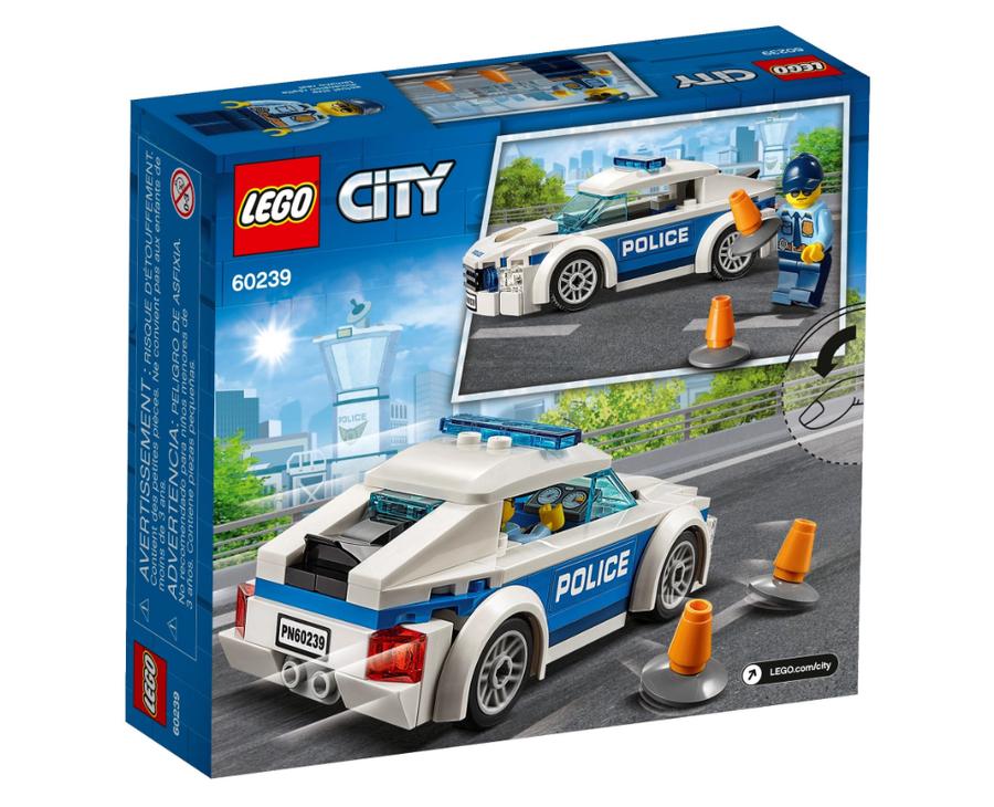 60239 LEGO City Polis Devriye Arabası