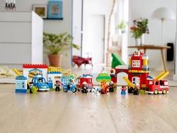 10902 LEGO DUPLO Town Polis Merkezi - Thumbnail