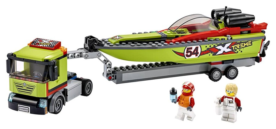 60254 LEGO City Yarış Teknesi Taşıyıcı
