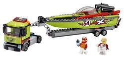 LEGO - 60254 LEGO City Yarış Teknesi Taşıyıcı
