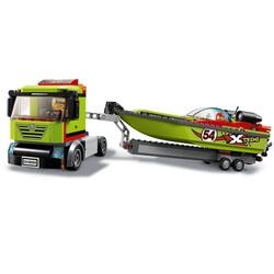60254 LEGO City Yarış Teknesi Taşıyıcı - Thumbnail