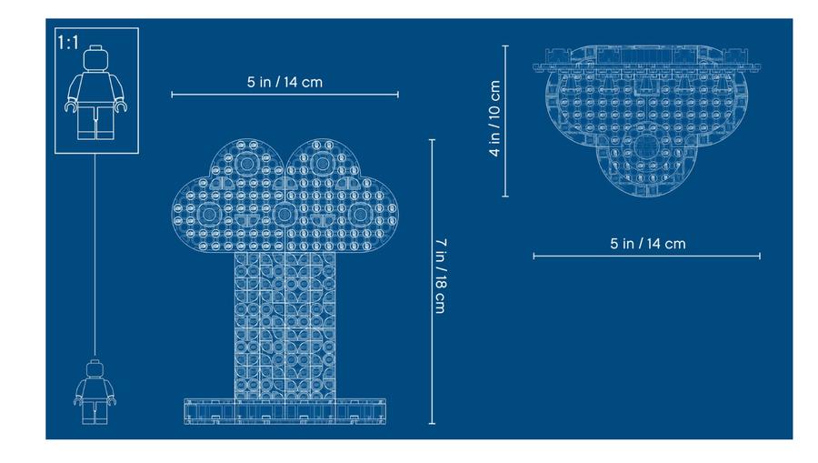41905 Gökkuşağı TakıDüzenleyici Stand- Kendin Yap Dekorasyon Seti