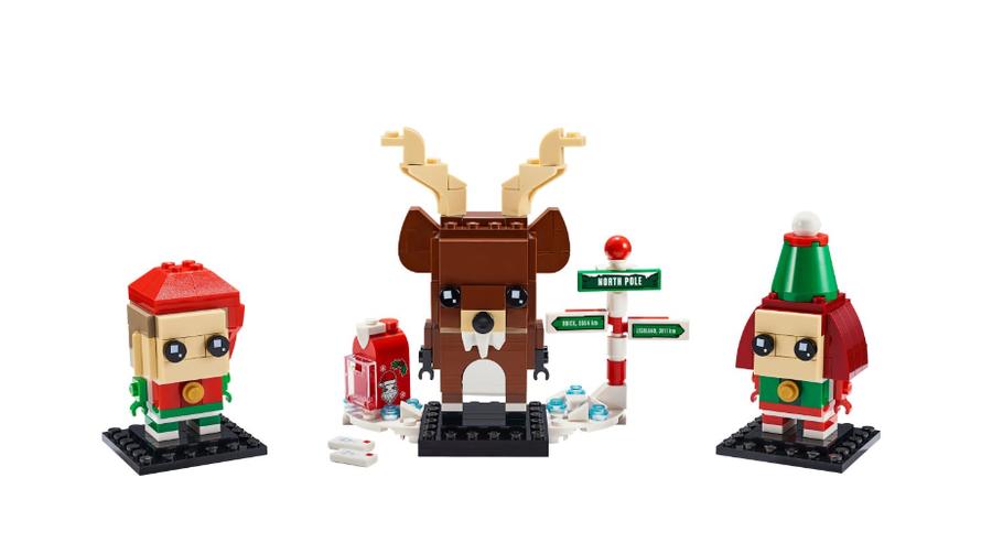 40353 Reindeer, Elf & Elfie