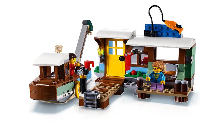 31093 LEGO Creator Nehir Tekne Evi