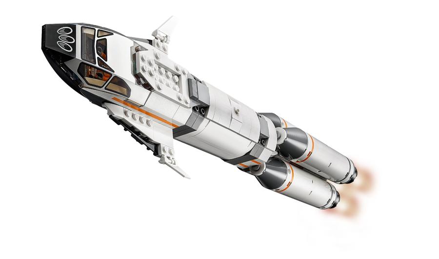 60229 LEGO City Roket Montaj ve Nakliyesi
