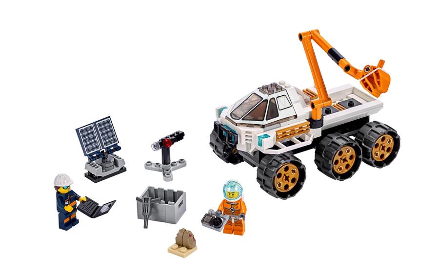 60225 Keşif Robotu Test Sürüşü