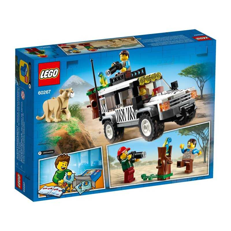 60267 LEGO City Safari Jipi