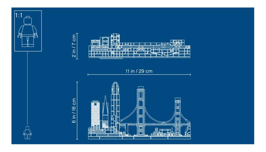 21043 LEGO Architecture San Francisco